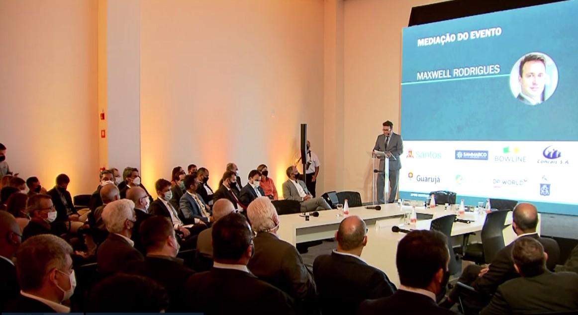 Seminário Porto & Mar 2021 debate desestatização no Porto de Santos