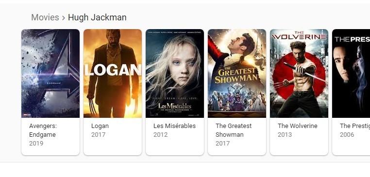 De acordo com o Google, o autor australiano Hugh Jackman estará presente no quarto filme da franquia Vingadores. Será? (Foto: Reprodução)