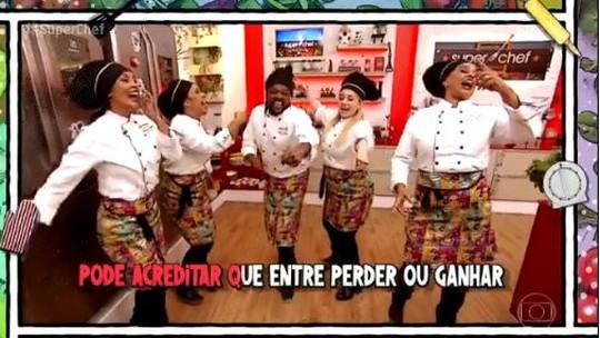 Xande de Pilares faz paródia da música 'Tá Escrito' para comemorar o 'Super Chef'