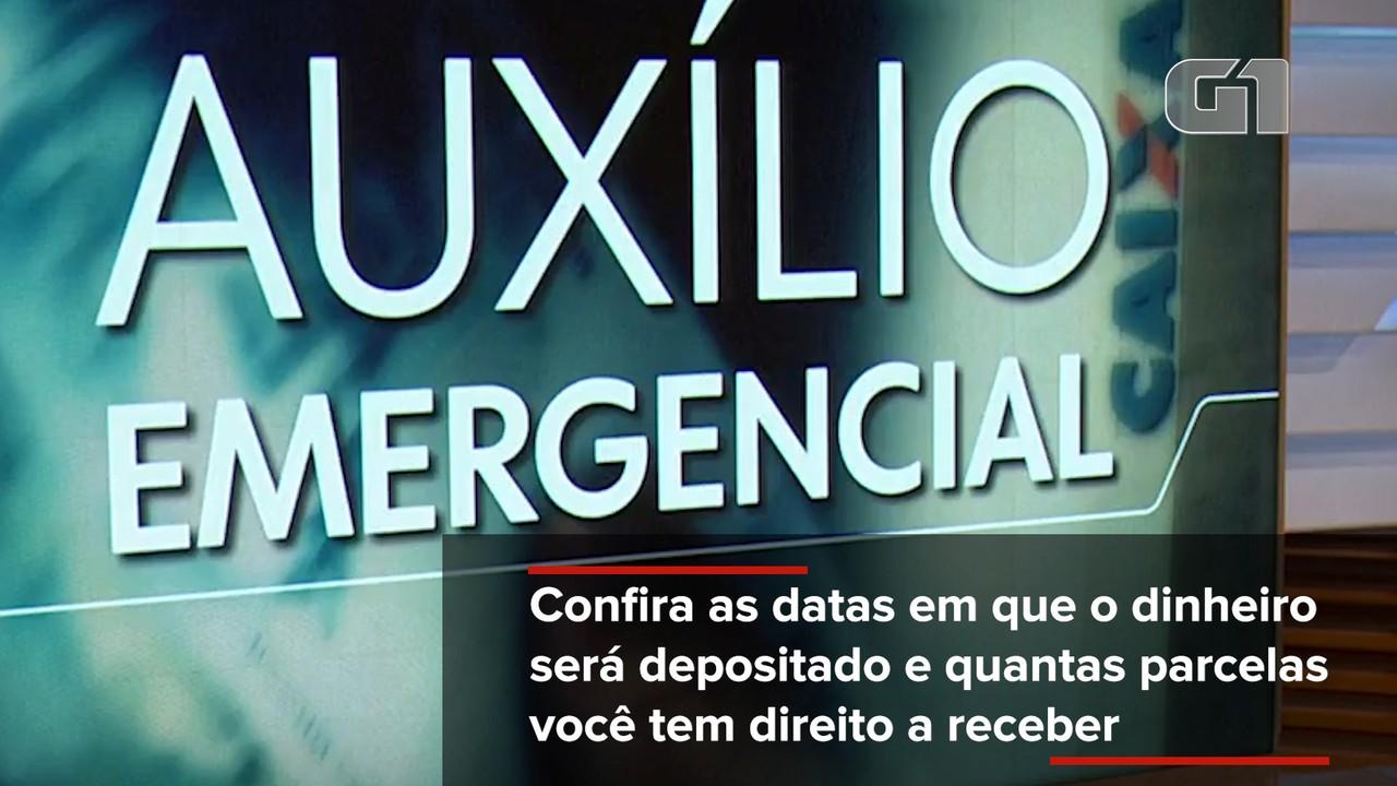 Confira as datas para o pagamento da nova fase do Auxílio Emergencial de R$ 300,00