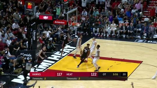 Confira o top 5 da noite de terça da NBA