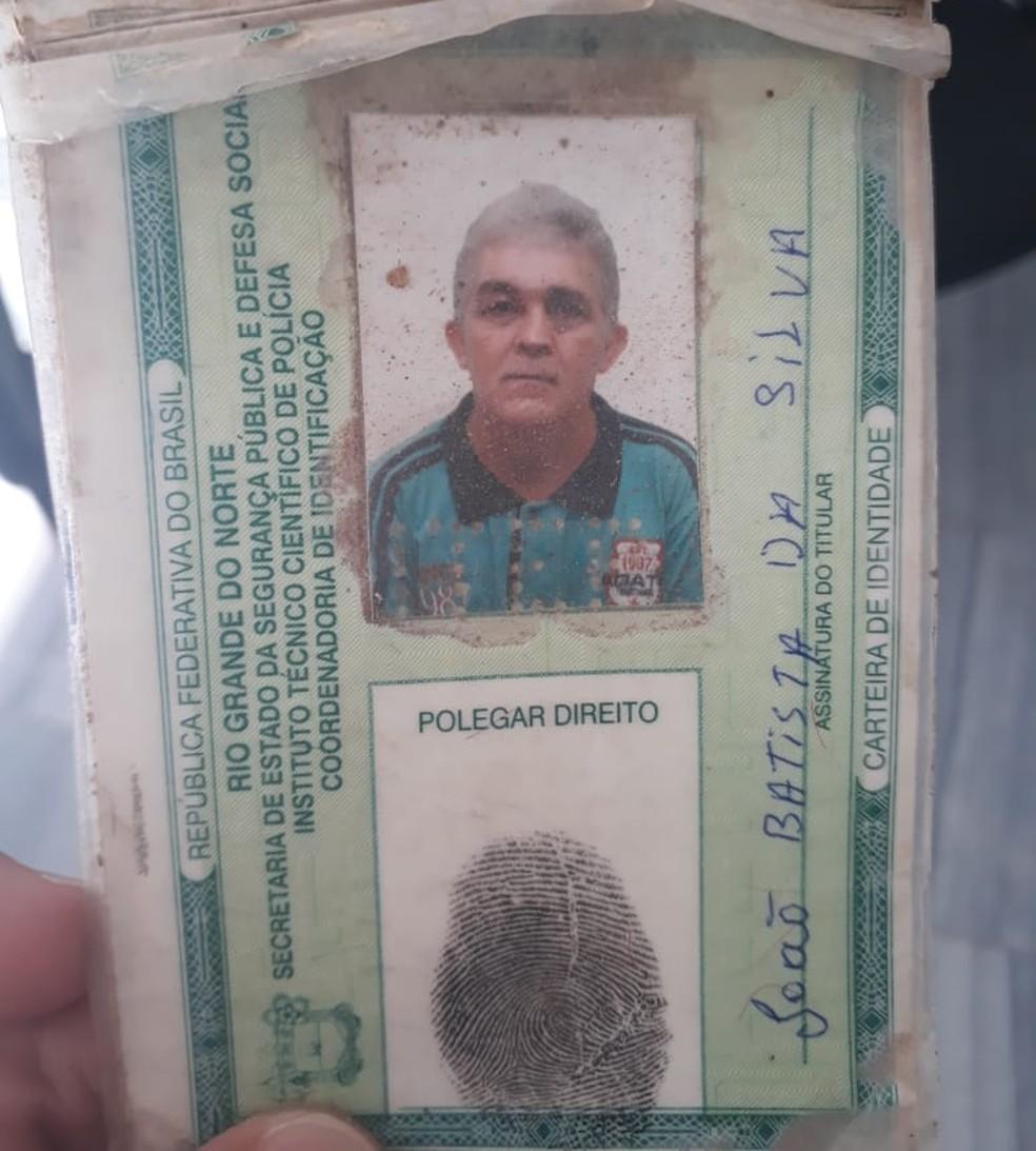 Vítima foi identificada como João Batista da Silva (Foto: Marksuel Figueredo/Inter TV Cabugi)