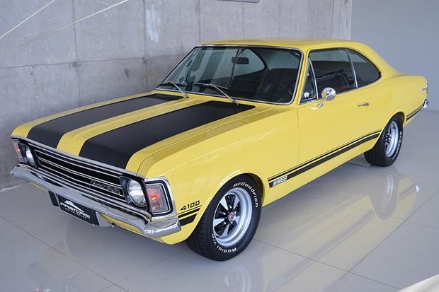Chevrolet Opala SS 1973 está em estado de conservação de 0km (Foto: Reprodução)