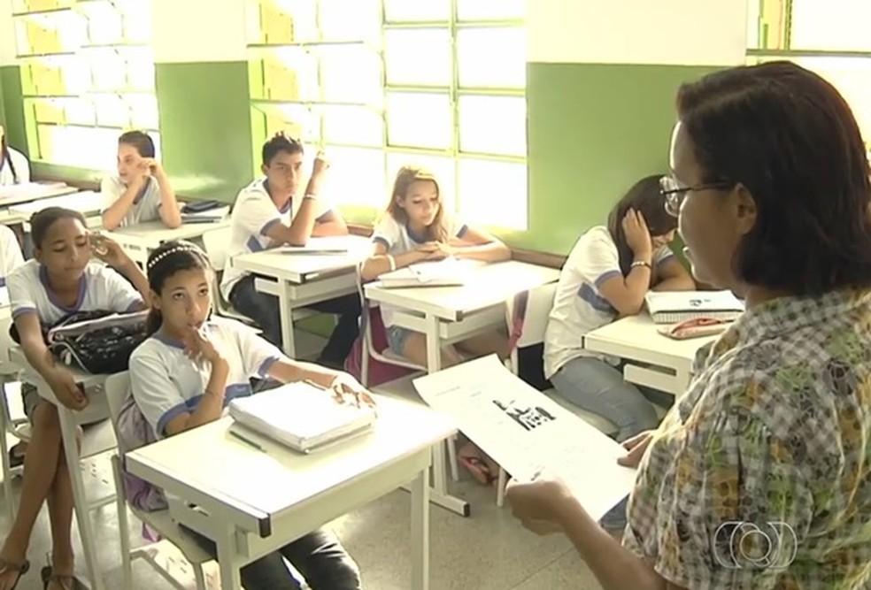 Aulas serão retomadas em todo o estado nesta segunda-feira.  — Foto: Reprodução/TV Anhanguera