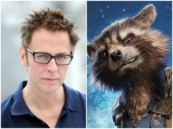 James Gunn / Rocket Racoon (Foto: Getty Images / Divulgação)