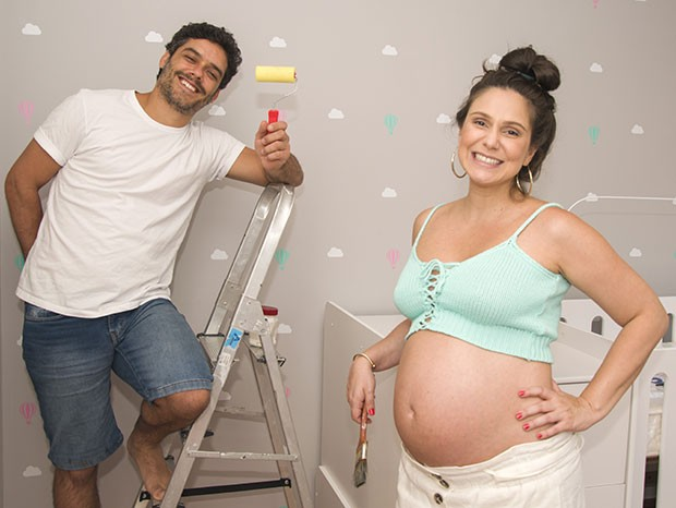 Marcelo Cavalcanti e Aline Fanju (Foto: Sylvinha Miranda)