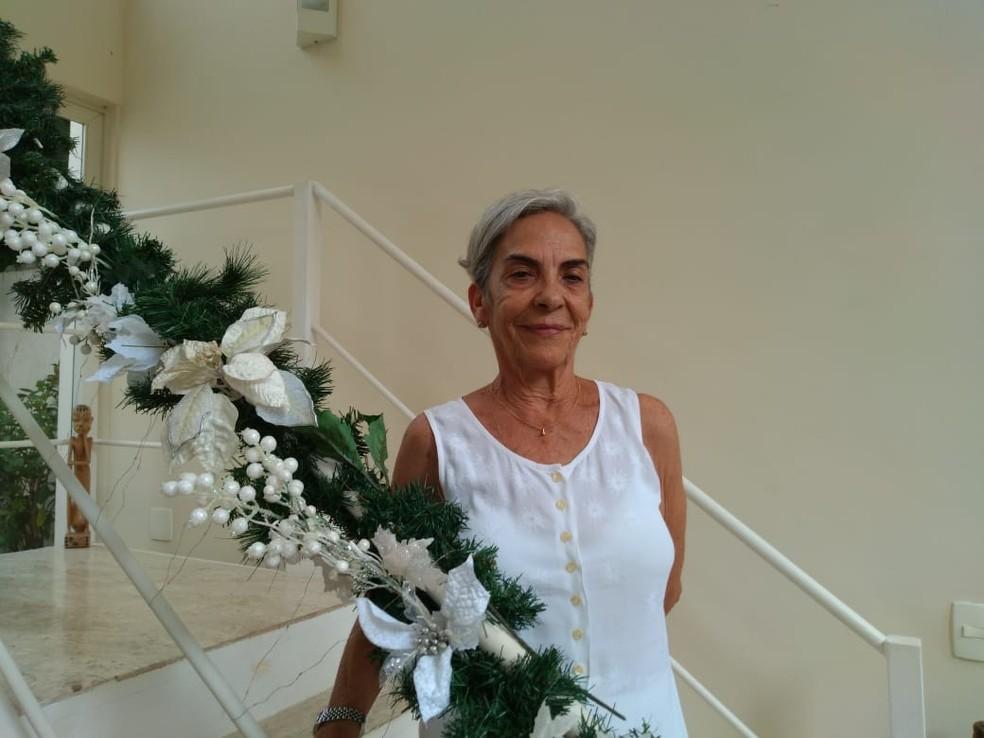 Maria José Ramos mora em Barra Mansa, no sul do estado do Rio de Janeiro — Foto: Arquivo Pessoal