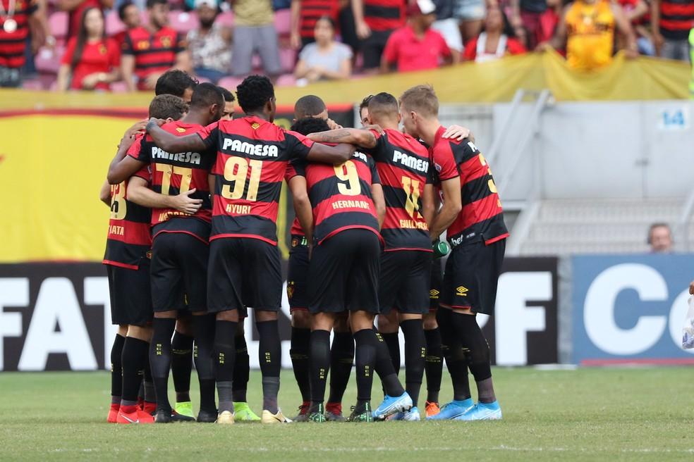 Sport conquistou o acesso à Série A ao fim da última temporada — Foto: Marlon Costa/Pernambuco Press