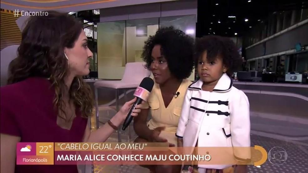 Maju fala sobre representatividade — Foto: TV Globo