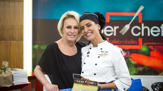 Maria Joana é a campeã do 'Super Chef Celebridades 2018'