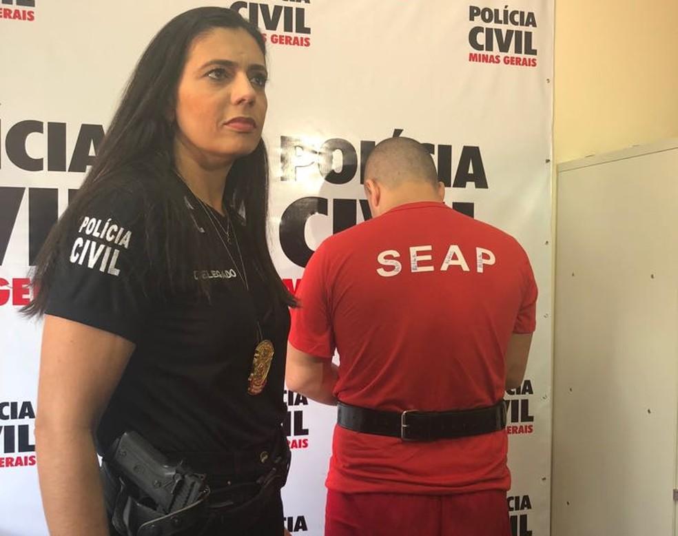 -  Homem de 33 anos responderá por tentativa de homicídio e descumprimento de medida protetiva em Juiz de Fora  Foto: Polícia Civil/Divulgação