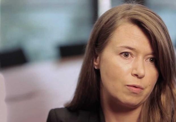 Margareta Drzeniek-Hanouz, membro do comitê executivo do Fórum Econômico Mundial (Foto: Reprodução/YouTube)