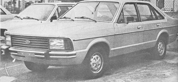 Corcel II quatro portas foi flagrado em 1979 (Foto: Autoesporte)