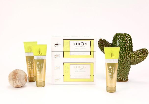 Produtos da Leboh, marca minimalista de pasta de dente (Foto: Divulgação)