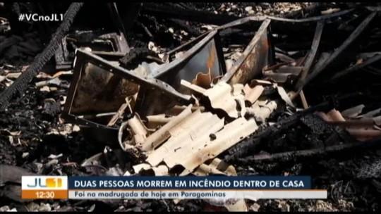 Casal morre carbonizado em incêndio dentro de casa em Paragominas, sudeste do Pará