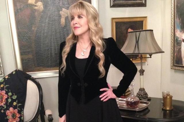 Stevie Nicks em 'American horror story: Coven' (Foto: Divulgação)