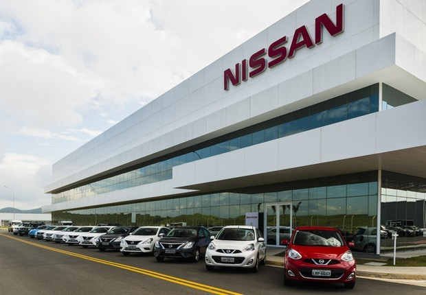 Fábrica da Nissan em Resende (Foto: Divulgação)