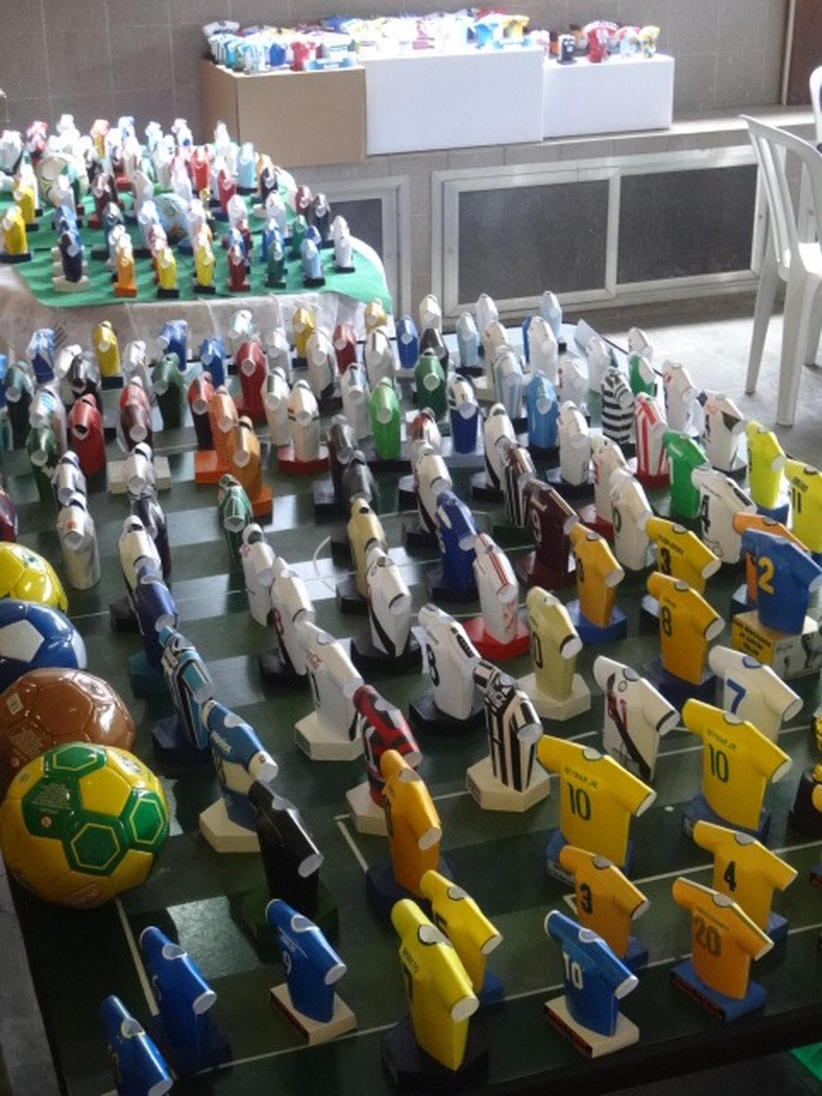 São mais de 6 mil peças no museu do carioca (Foto: Christian Gama / arquivo pessoal)