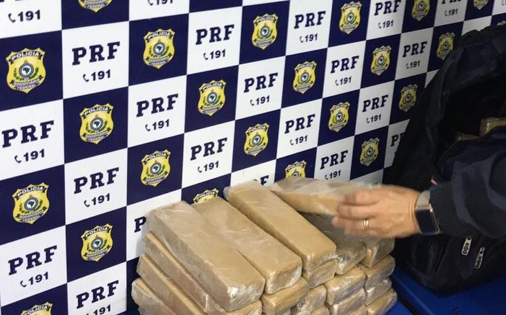 Segundo informações da Polícia Rodoviária Federal (PRF), caso ocorreu no Km-836 da rodovia, durante rondas dos policiais, por volta de 1h.  — Foto: Polícia Rodoviária Federal (PRF)
