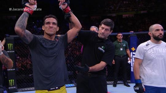 Melhores momentos da luta entre Charles do Bronx x Jared Gordon - UFC São Paulo
