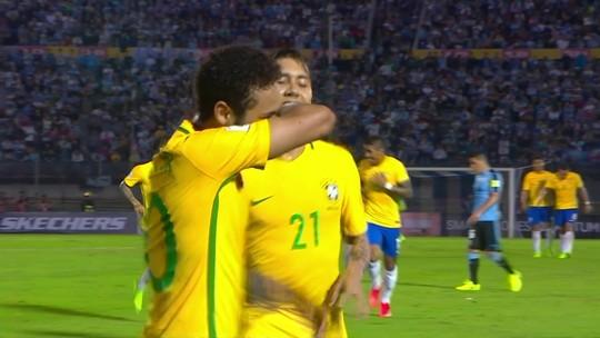 Neymar faz homenagem a jogadores de CS:GO após golaço contra Uruguai