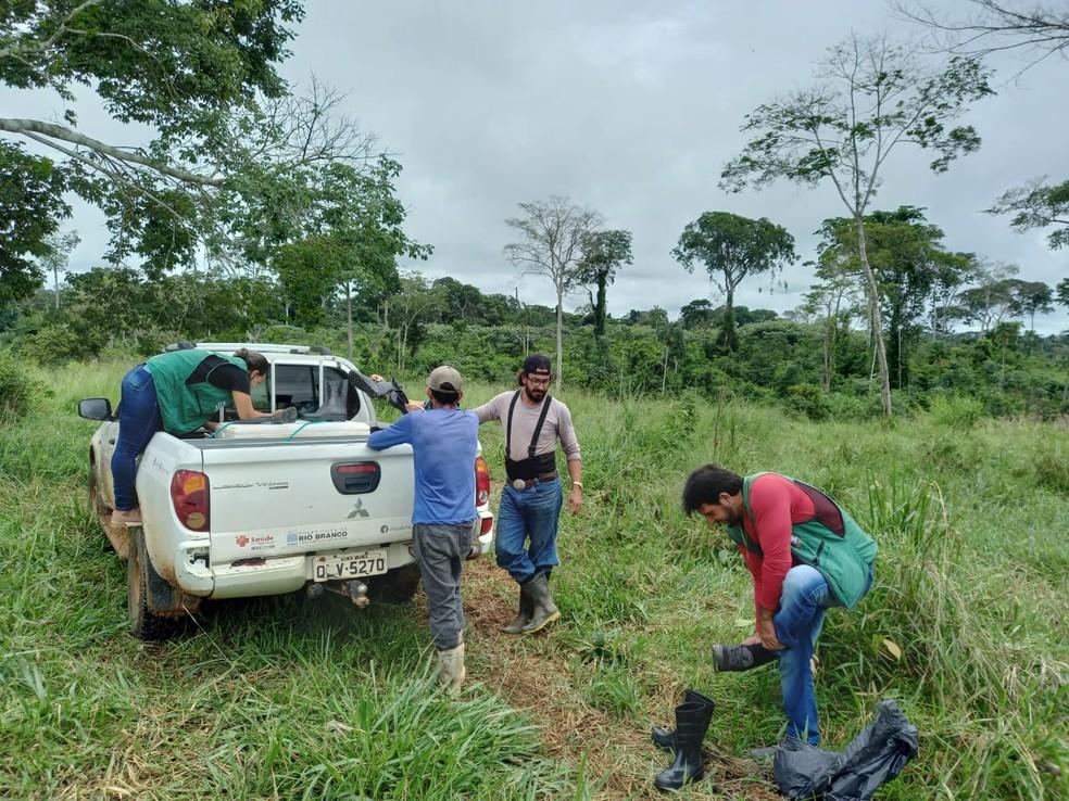 Departamento de Zoonoses de Rio Branco fez visita técnica no local — Foto: Arquivo/Departamento de Zoonoses