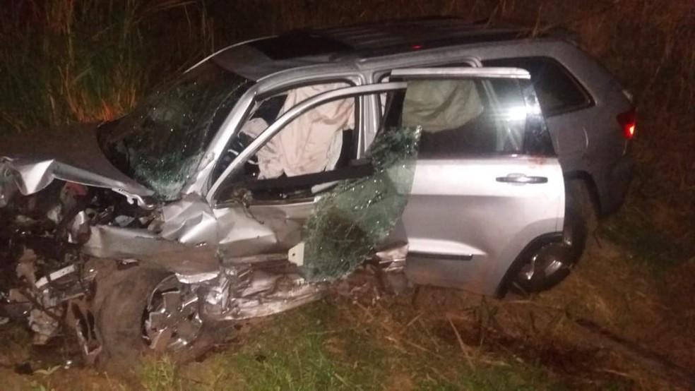 Deputado Stênio Rezende sofre acidente grave na BR-316 (Foto: Divulgação/Polícia Rodoviária Federal)
