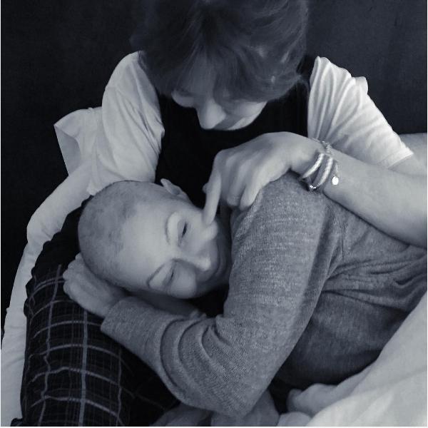 A atriz Shannen Doherty com sua mãe (Foto: Instagram)