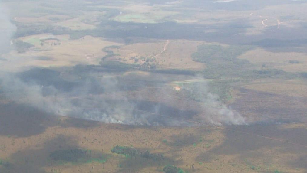 Alta de 94% nos focos de calor deixa 4 municípios do AP em risco crítico de queimadas - Notícias - Plantão Diário