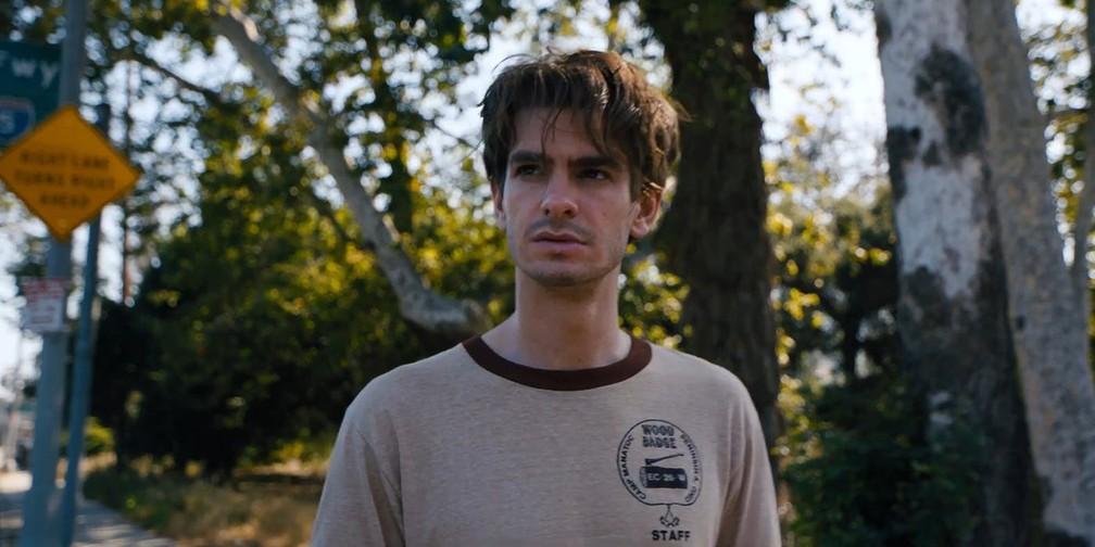 -    39;Under The Silver Lake  39; tem Andrew Garfield no elenco  Foto: Divulgação