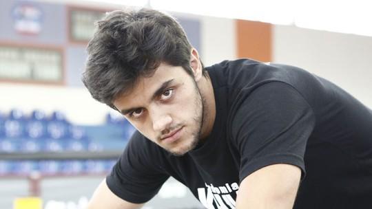 O 'fofurômetro' do Vídeo Show analisa o ator Felipe Simas
