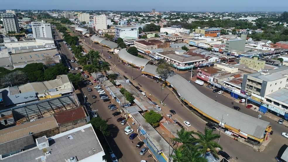 Com fronteira fechada, comércio de Pedro Juan Caballero dispensa 5 mil e fecha 200 lojas. — Foto:  Associação dos Desempregados Fronteiriços/Divulgação