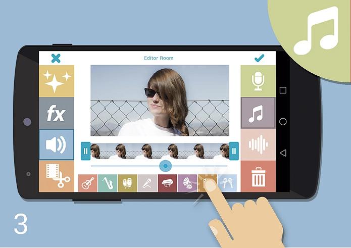 Videona é uma ótima opção de editor de vídeos para Android (Foto: Divulgação)