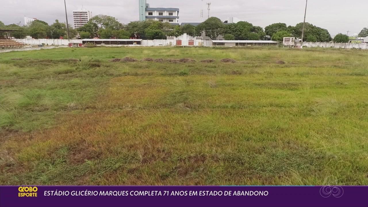 Com matagal e em silêncio, Estádio Glicério Marques completa 71 anos