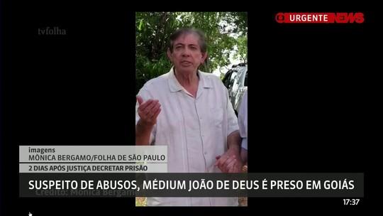 VÍDEO: 'Me entrego à justiça divina e à justiça da terra', diz médium