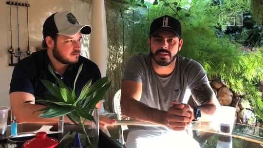 Amigos famosos gravam vídeos em homenagem a Cristiano Araújo