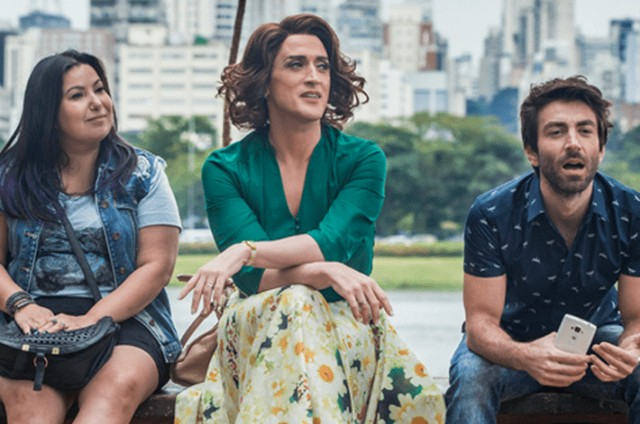 Mariana Xavier, Paulo Gustavo e Rodrigo Pandolfo em 'Minha mãe é uma peça' 2 (Foto: Divulgação)