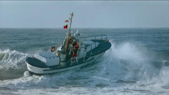 Você Só Tem uma Chance: avalanche cria onda gigante em direção a barco