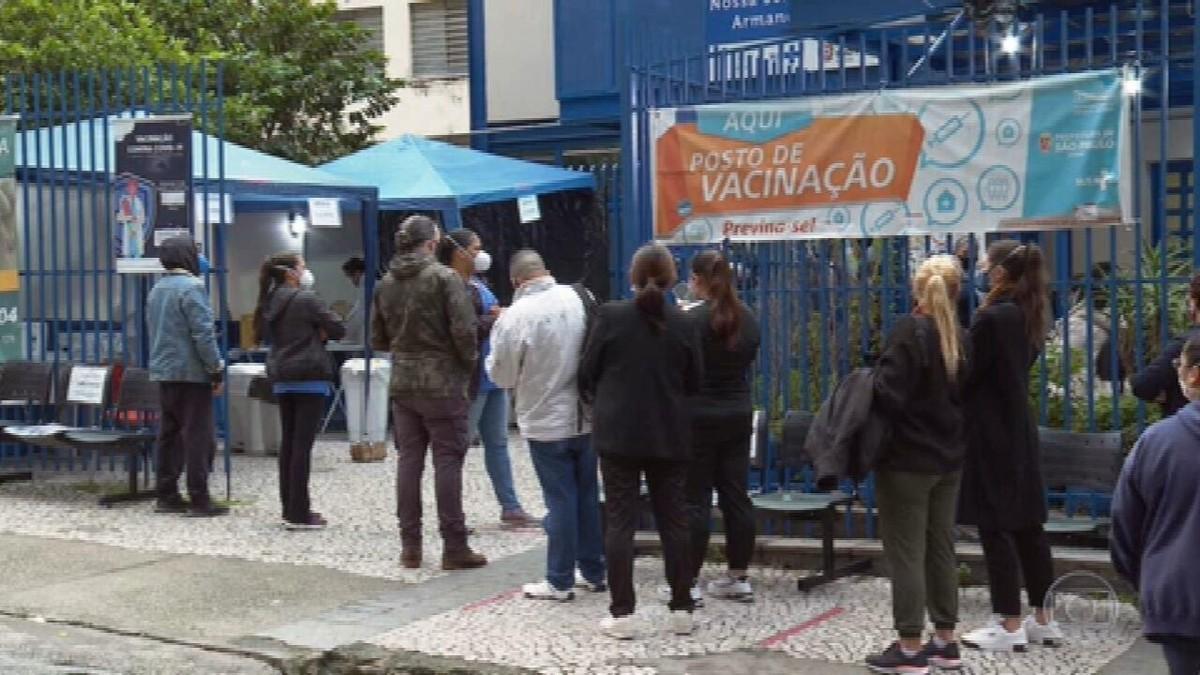 Prefeitura de São Paulo retoma vacinação contra Covid