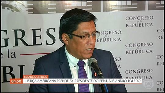 Justiça americana prende ex-presidente do Peru, Alejandro Toledo
