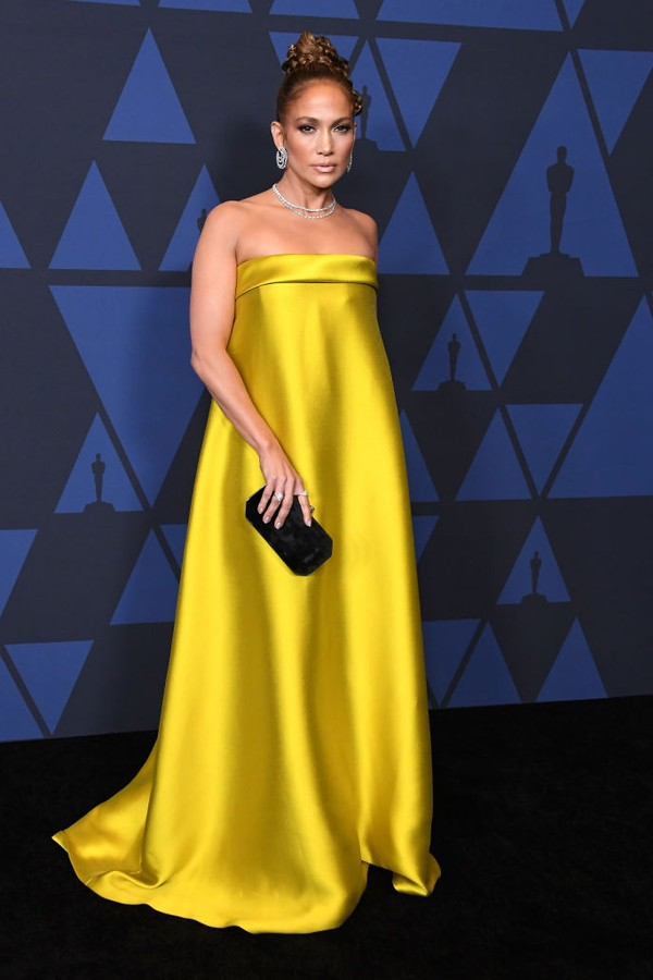 Jennifer Lopez no 11th Annual Governors Awards no  The Ray Dolby Ballroom em Hollywood  (Photo by S (Foto: WireImage)