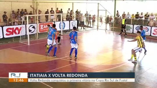 """Com gols de """"dupla sertaneja"""", Volta Redonda vence Itatiaia por 3 a 0 fora de casa"""