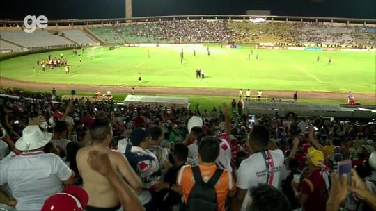 """Campeão, River-PI provoca presidente do time rival com vice e ironiza: """"Respeita o gigante"""""""