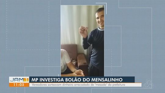 Vereador filmado sorteando 'mensalinho' no interior do AM é expulso do PSB