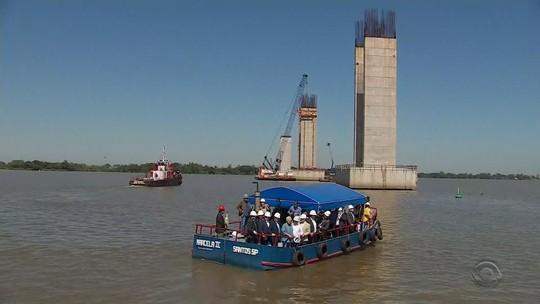'Não faltarão recursos', diz ministro em visita ao RS para anunciar verba da segunda ponte do Guaíba