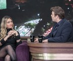 Fábio Porchat recebe Nadja Pessoa em seu programa | Edu Moraes / Record TV