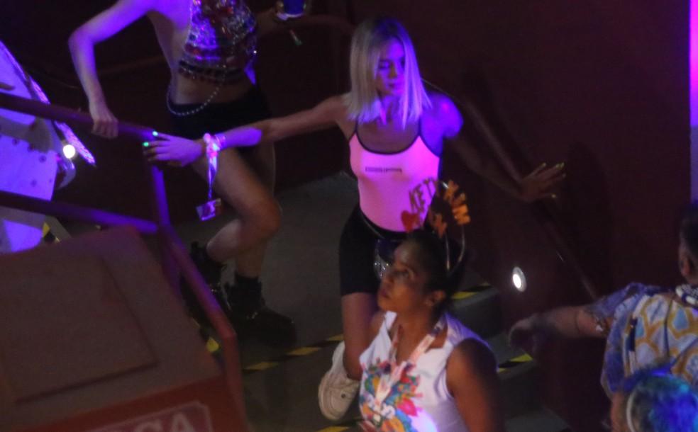 Bruna Marquezine curte carnaval em camarote de Salvador — Foto: Thiago Martins/ Ag. News