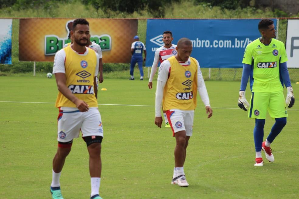 Bahia encara o Flamengo na quinta-feira e não descansará durante a Copa do Mundo (Foto: Divulgação/EC Bahia)
