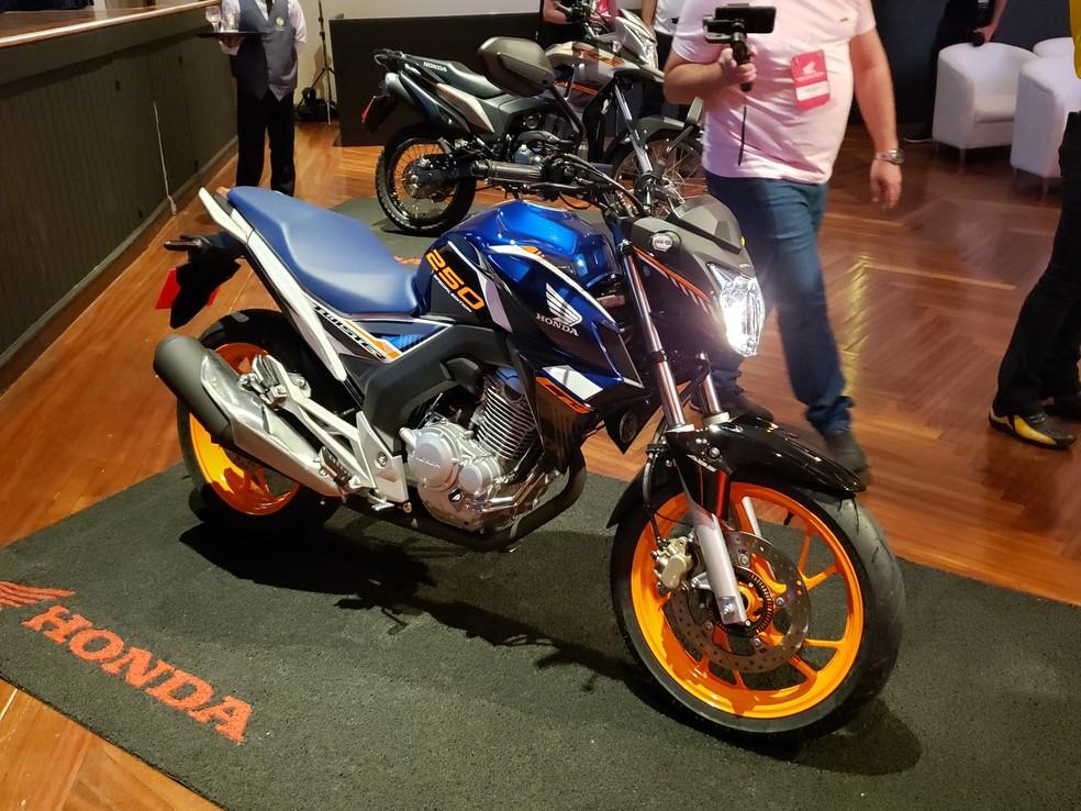Honda CB 250F Twister  — Foto: Rafael Miotto/G1