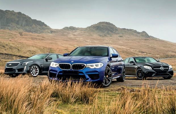 Novo BMW M5 encara Mercedes-AMG E63 S 4MATIC e Cadillac CTS-V (Foto: Autocar)